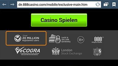 Casino 888 Handy